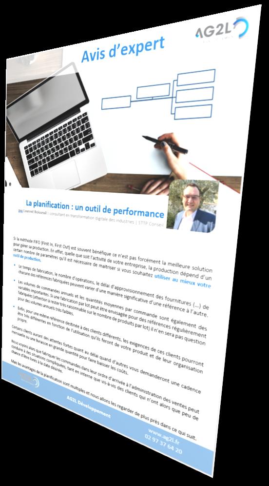 La planification, outil de performance des industries