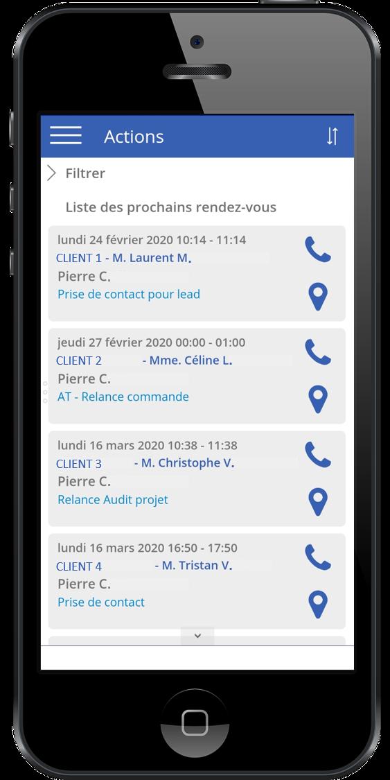 Copie écran - ERP Industria AG2L Mobilité